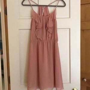 ☀️Cute LC Lauren Conrad Pink Dress Sundress Flirty